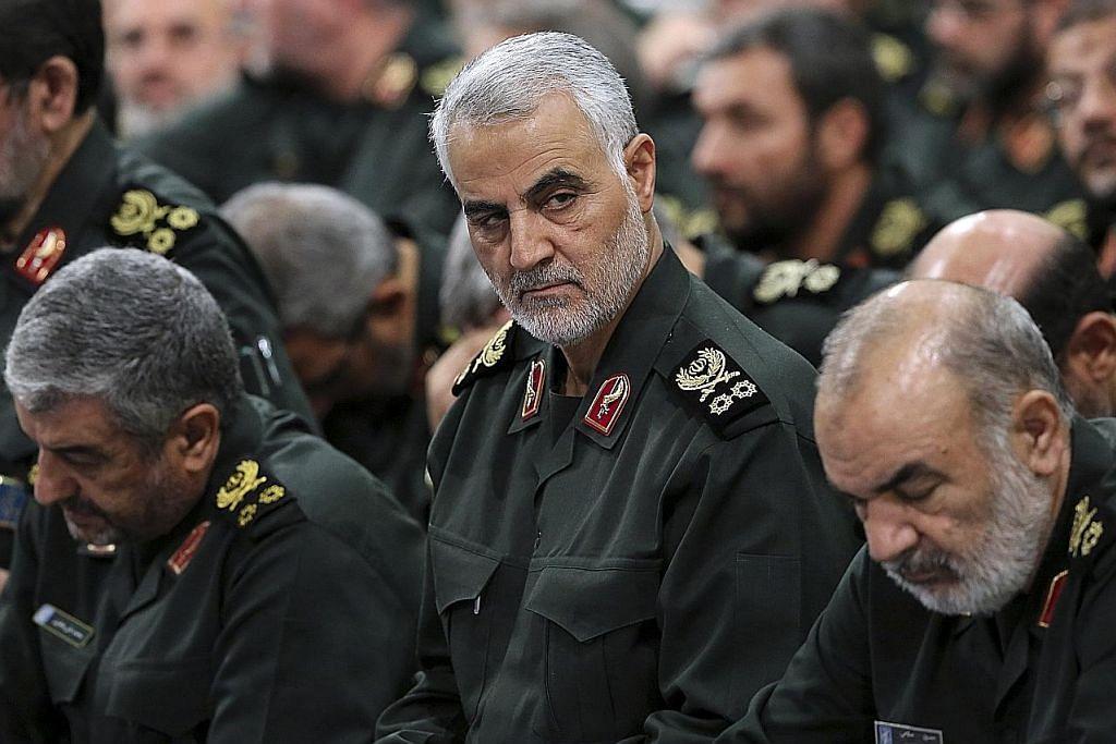Jeneral Iran yang digeruni terbunuh dalam serangan udara AS di Baghdad