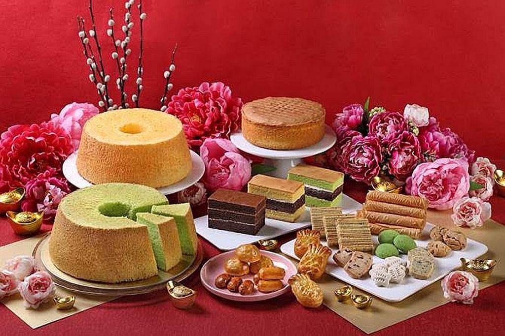 Pelbagai kek, biskut dan snek di PrimaDeli