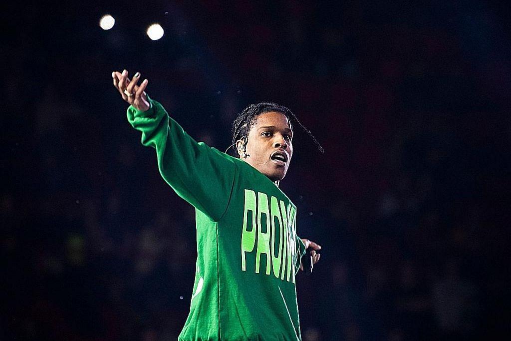 A$AP Rocky – Foto AP, AFP & REUTERS