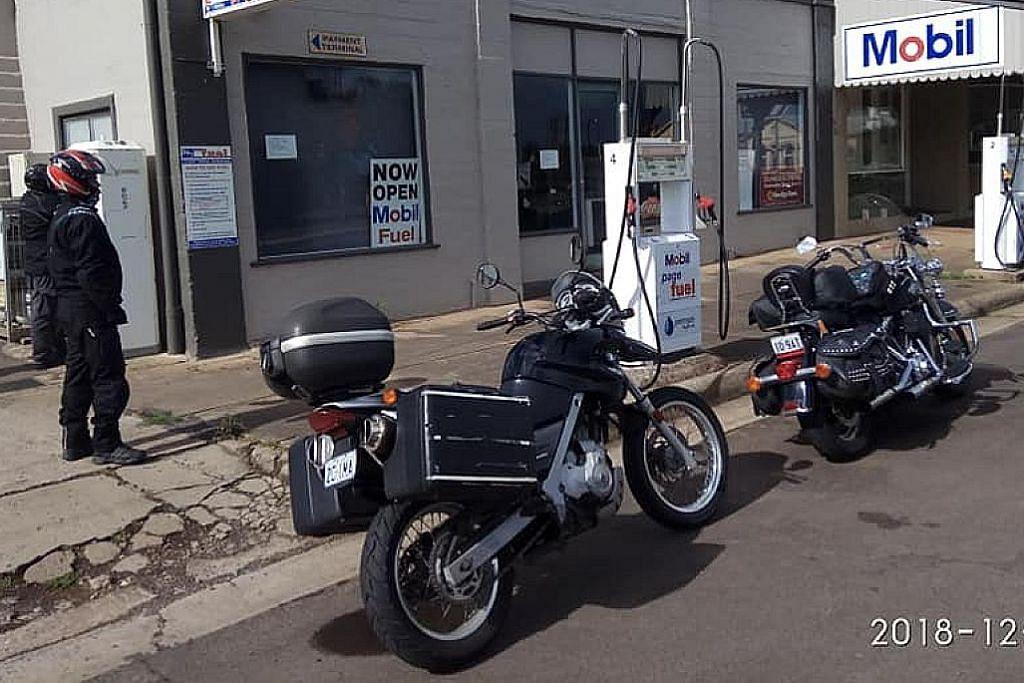 KEMBARA Sewa motosikal ronda-ronda Australia