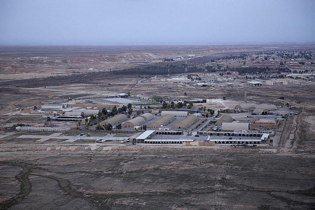 Iran lancar serangan roket ke atas markas udara AS di Iraq