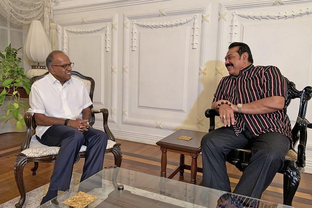 Shanmugam lawat Sri Lanka