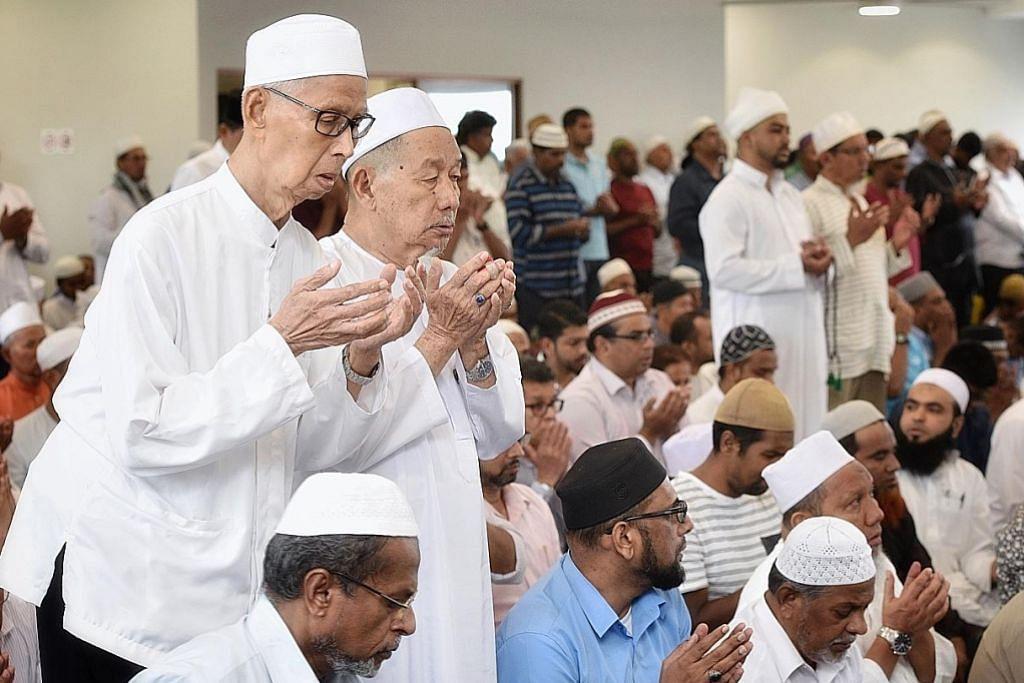 Masjid Angullia dibuka semula lepas naik taraf