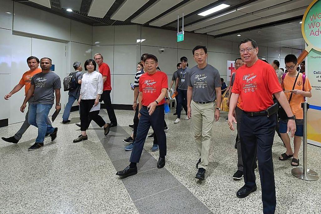 Stesen MRT Woodlands North dibuka bagi sesi suai diri