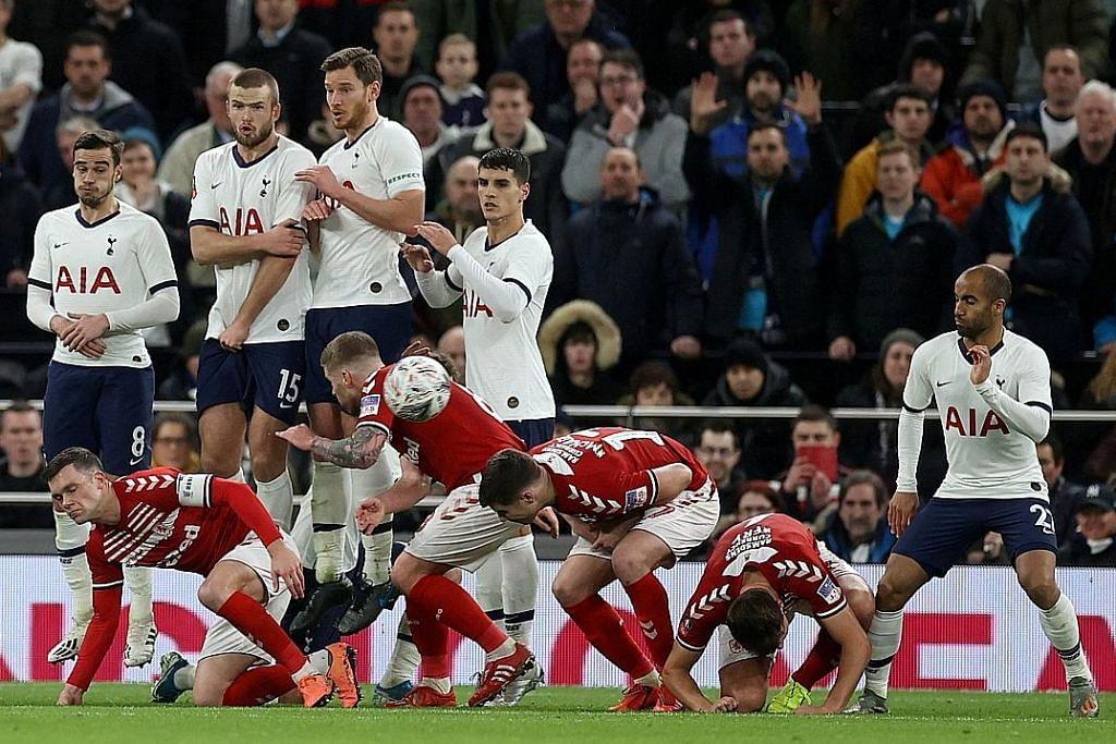 PIALA FA ENGLAND Mourinho: Gandingan Lo Celso-Lamela setanding legenda Spurs, Ardiles-Villa