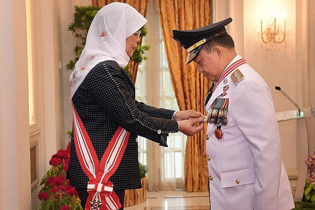 Menteri Indonesia terima anugerah atas sumbangan kukuhkan hubungan SPF-Polri