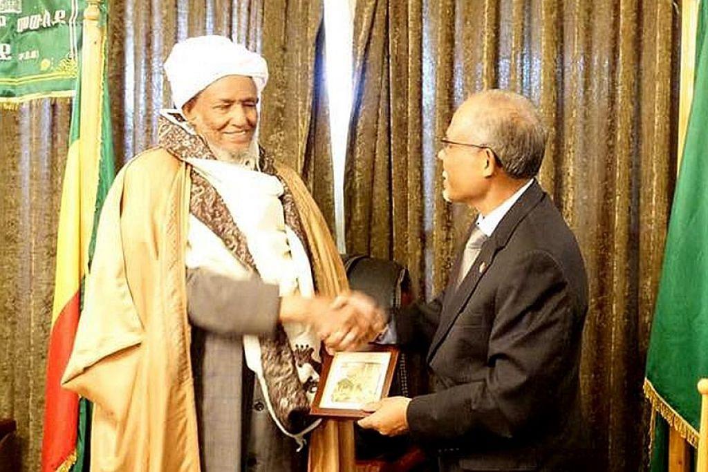 S'pura boleh belajar dari keharmonian agama di Habsyah: Masagos