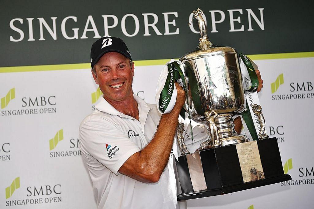 Matt Kuchar menangi kejohanan Terbuka Singapura GOLF