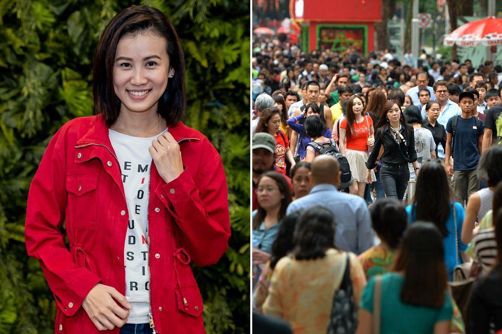 Jumlah warga asing SG, pelakon drama bangsa asing tarik minat pembaca