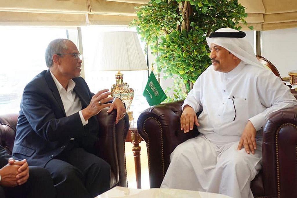 Masagos lahir penghargaan kepada agensi haji Arab Saudi