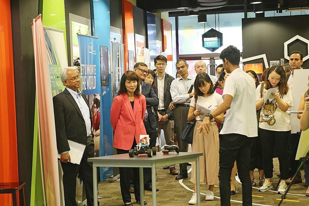 15,000 pelajar ITE akan dilengkapi dengan kemahiran kecerdasan buatan