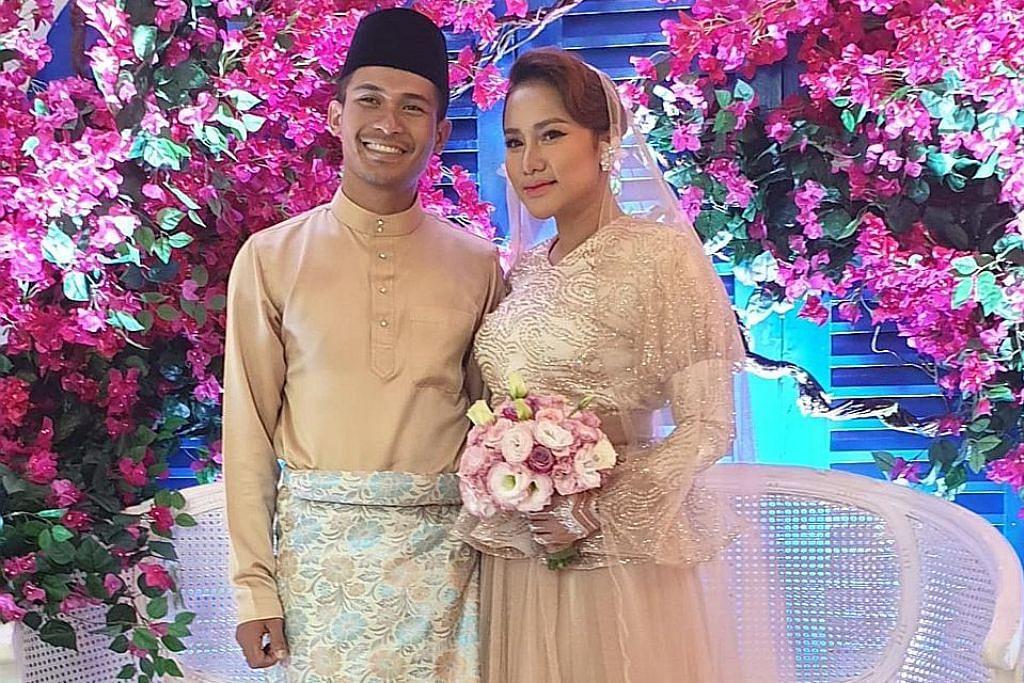 Pereka fesyen SG cipta busana pengantin Kak Lina PEREKA FESYEN SELEBRITI
