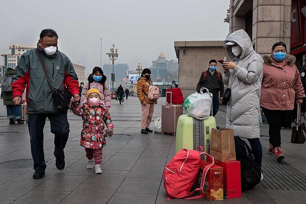 Angka korban, dijangkiti terus meningkat di China