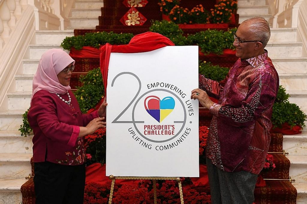 Presiden Halimah lancar logo baru Cabaran Presiden