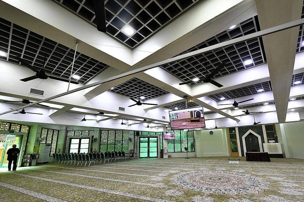 Lebih selesa apabila peningkatan Masjid Kassim selesai jelang Ramadan