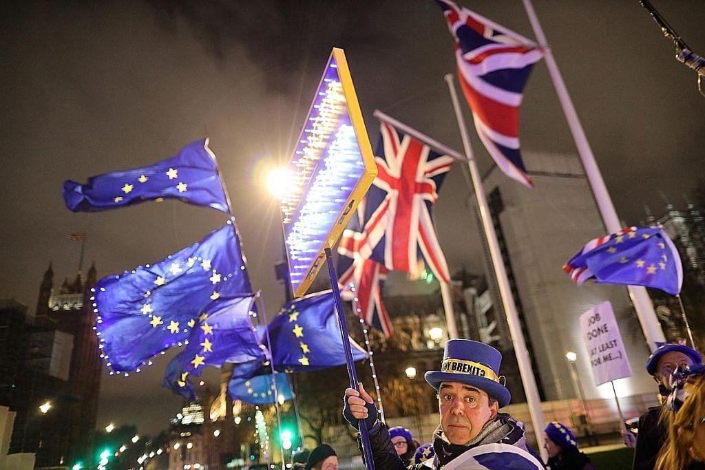 Britain rasmi tinggalkan Kesatuan Eropah