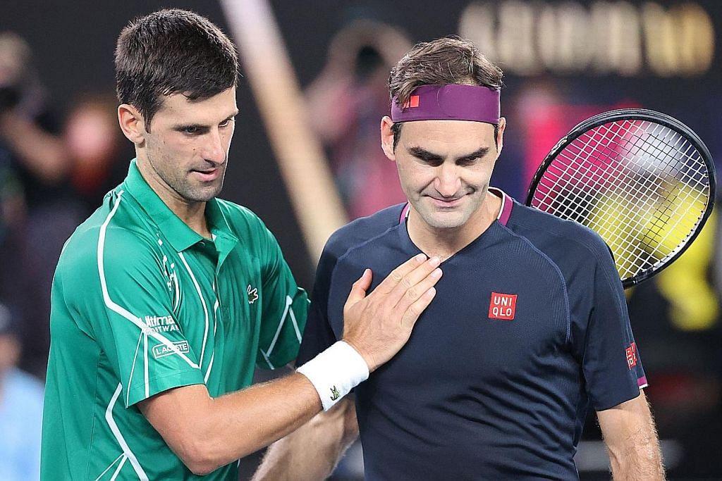 Djokovic tabik Federer