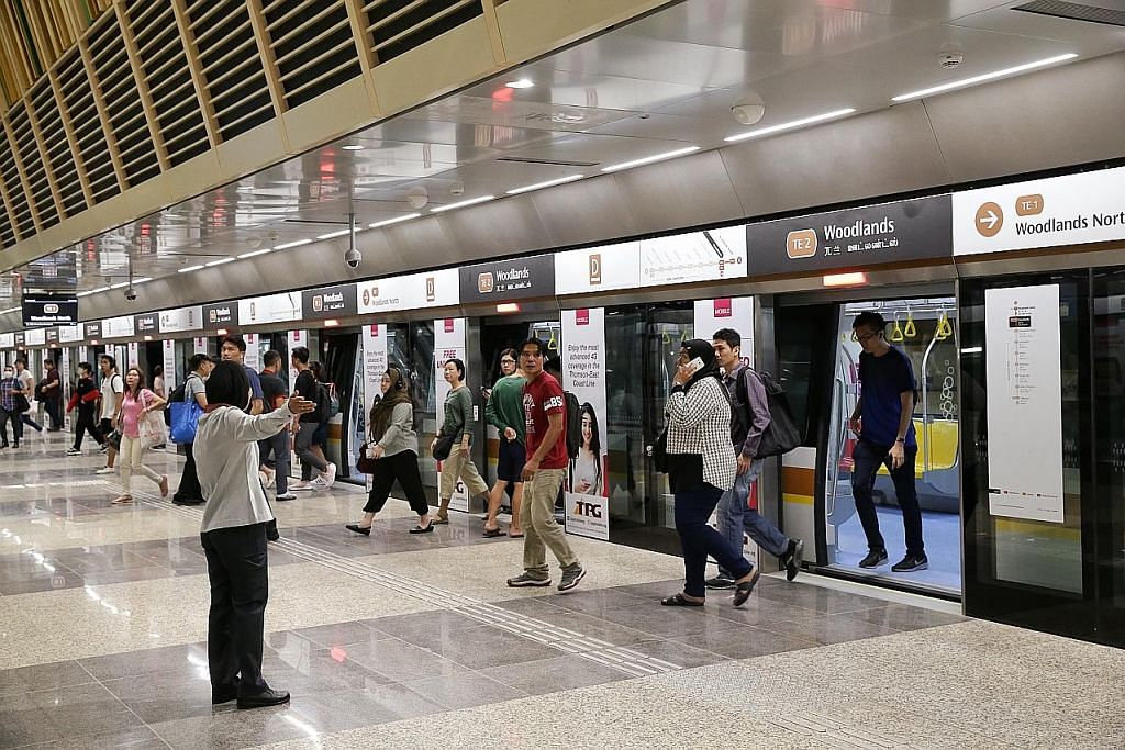 3 stesen Laluan Thomson-East Coast mula beroperasi