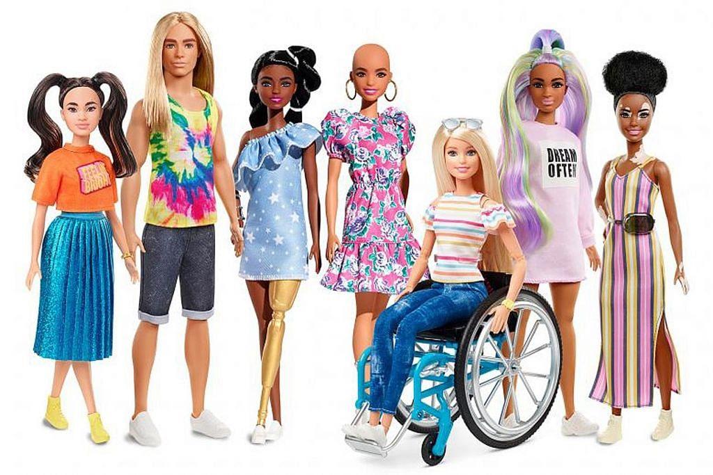 'Wajah baru' anak patung Barbie