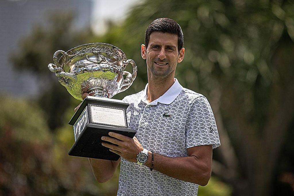 TENIS TERBUKA AUSTRALIA Jaguh tenis Novak Djokovic pertahan mahkota Terbuka Australia