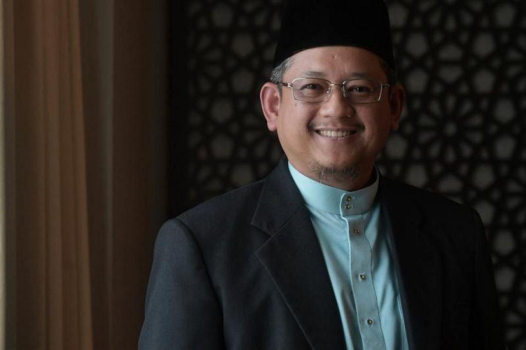 TETAP TENANG: Orang beriman tetap tenang dengan keyakinannya terhadap rahmat Allah, walau betapa perit ujian mendatang, kata Mufti.