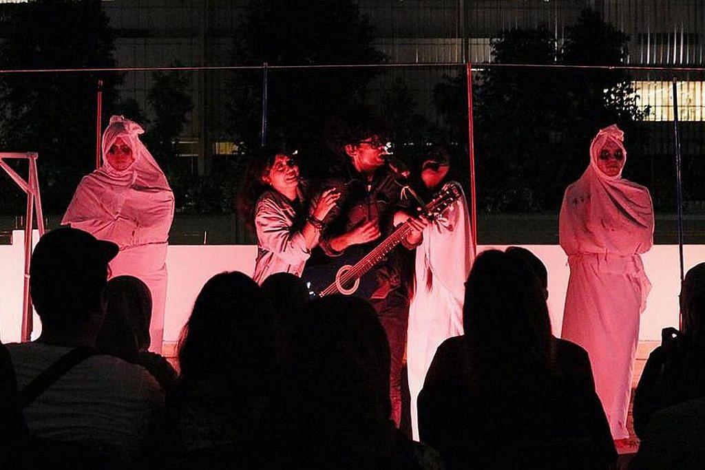 Mesej bahaya dadah di sebalik muzikal 'kelakar-seram'