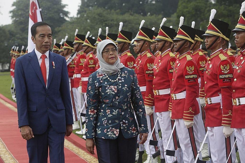 Lawatan bersejarah Presiden Halimah ke Jakarta