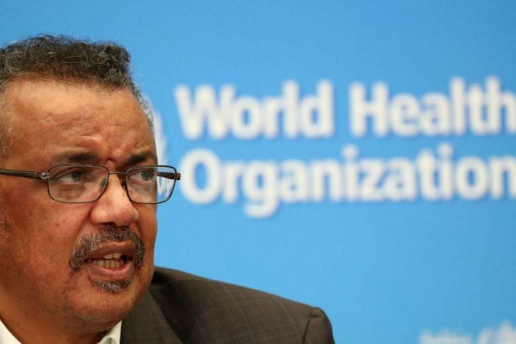 Pengarah Agung WHO, Encik Tedros Adhanom Ghebreyesus menyeru semua negara meningkatkan usaha bagi tangani koronavirus.