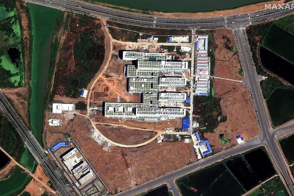Bangunan diubah suai jadi hospital dalam tempoh 48 jam di Wuhan