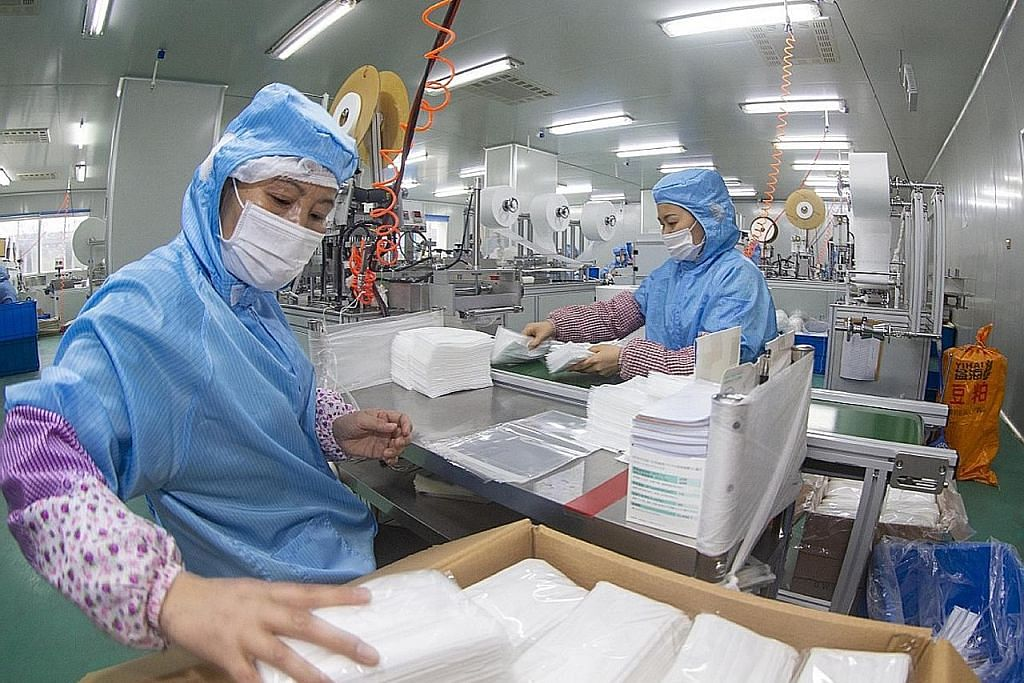 China siap bina kilang hasil pelitup dalam tempoh seminggu