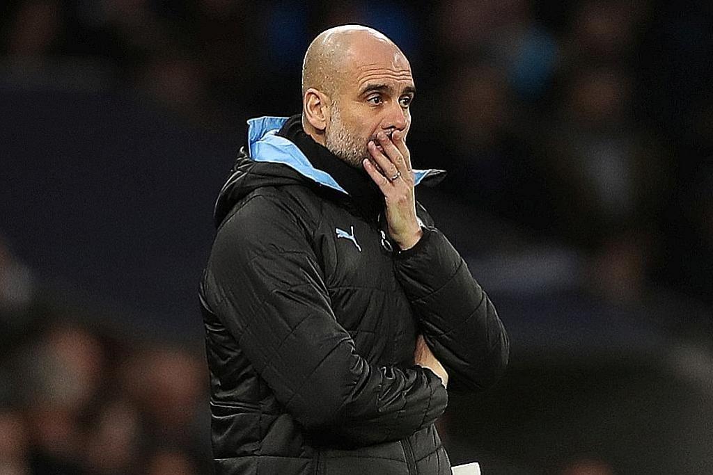 BOLA SEPAK ENGLAND Pep Guardiola akur kesebelasan Man City perlu pembaharuan