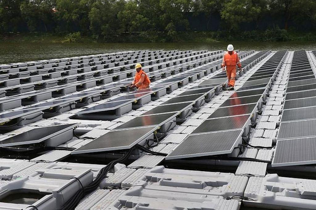 Sembcorp akan bina panel suria terapung terbesar dunia di Kolam Air Tengeh