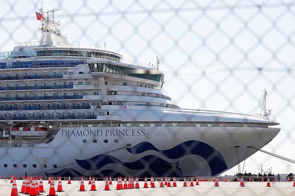 Percutian di kapal persiaran bertukar jadi 'penjara' KORONAVIRUS