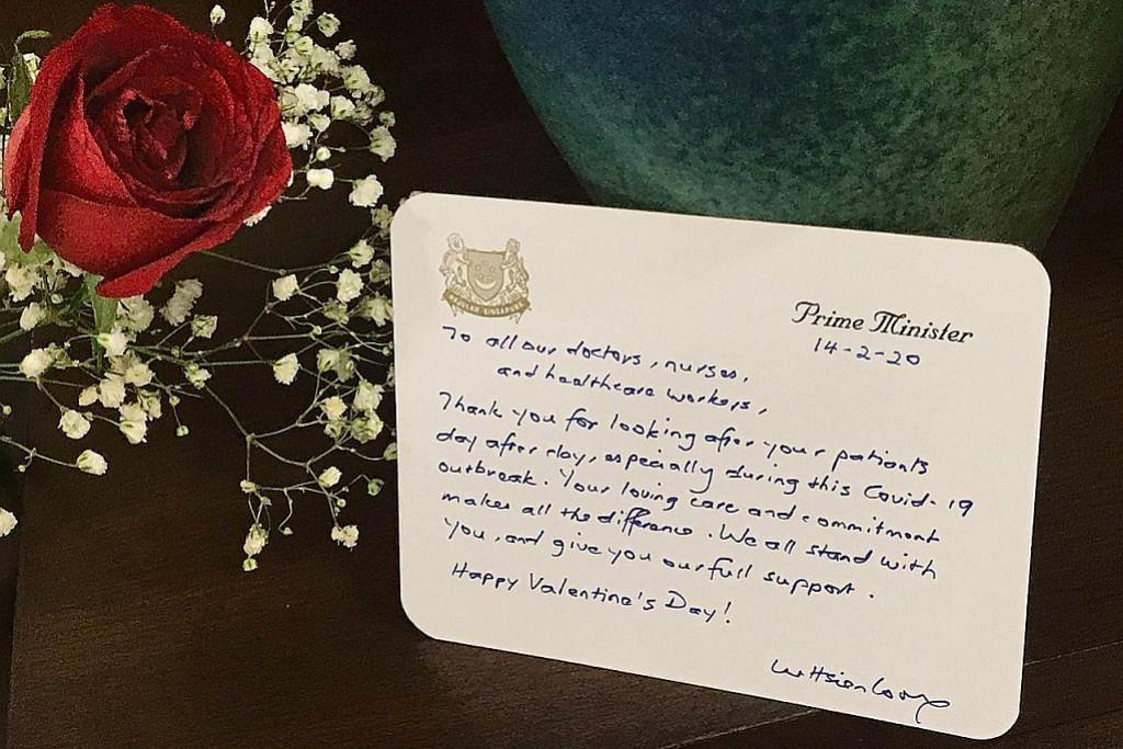 PM Lee luah penghargaan kepada kakitangan jagaan kesihatan