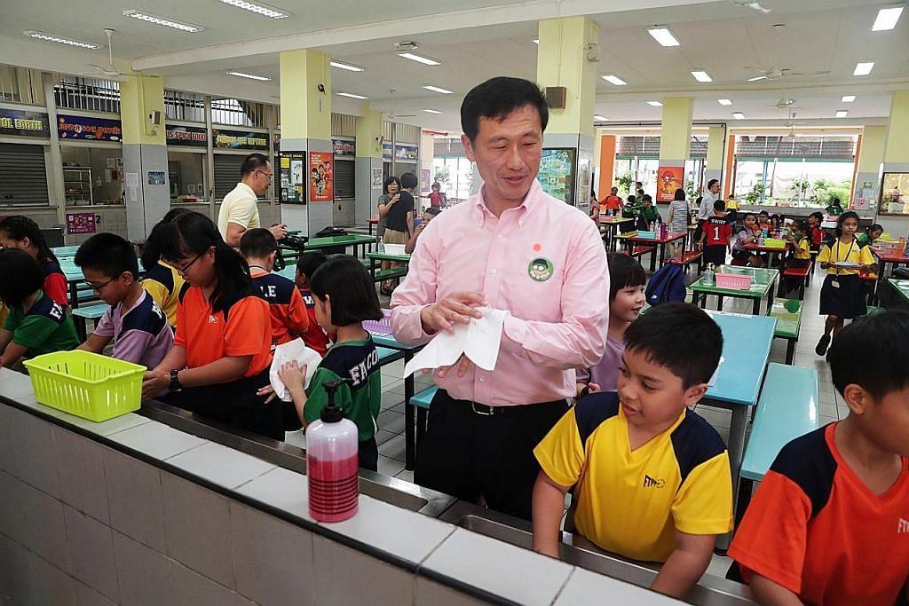 KORONAVIRUS Tiada rancangan tutup sekolah: Ye Kung