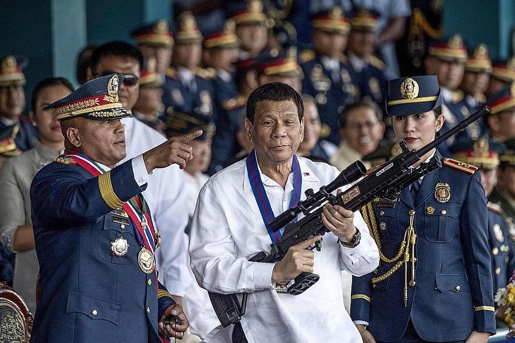 Dasar tegar 'KEJUT DAN KAGUM' Filipina perangi dadah gagal capai sasaran