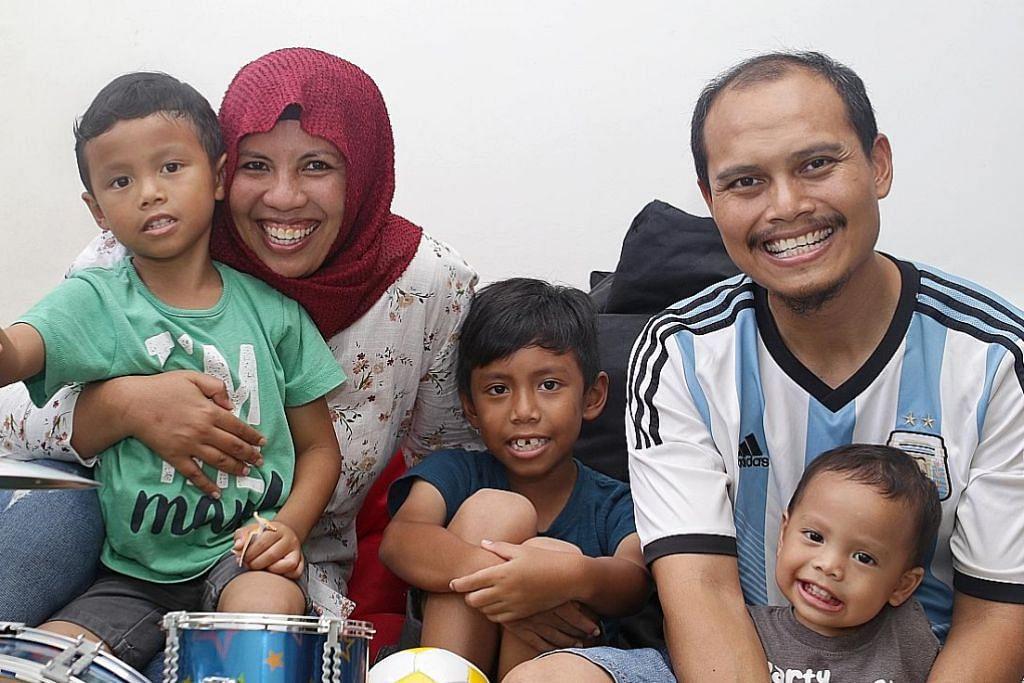 Sokongan dapat ringankan beban perbelanjaan harian keluarga lima beranak