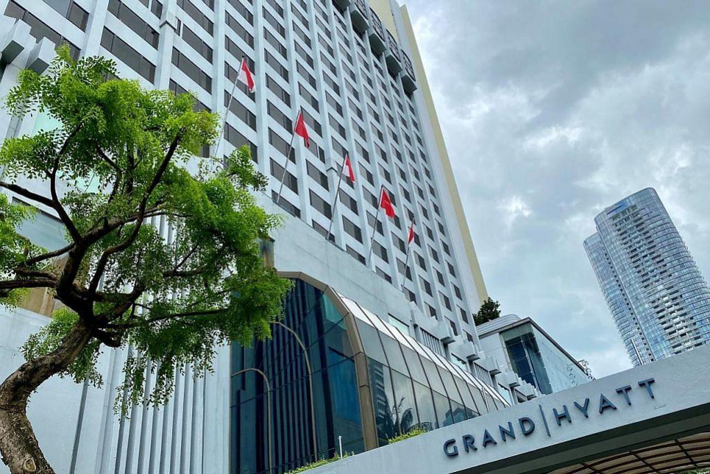 Tiga pesakit Covid-19 dikaitkan dengan Hotel Grand Hyatt sudah pulih