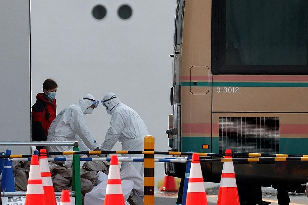 Dua penumpang kapal persiaran Diamond Princess maut akibat koronavirus