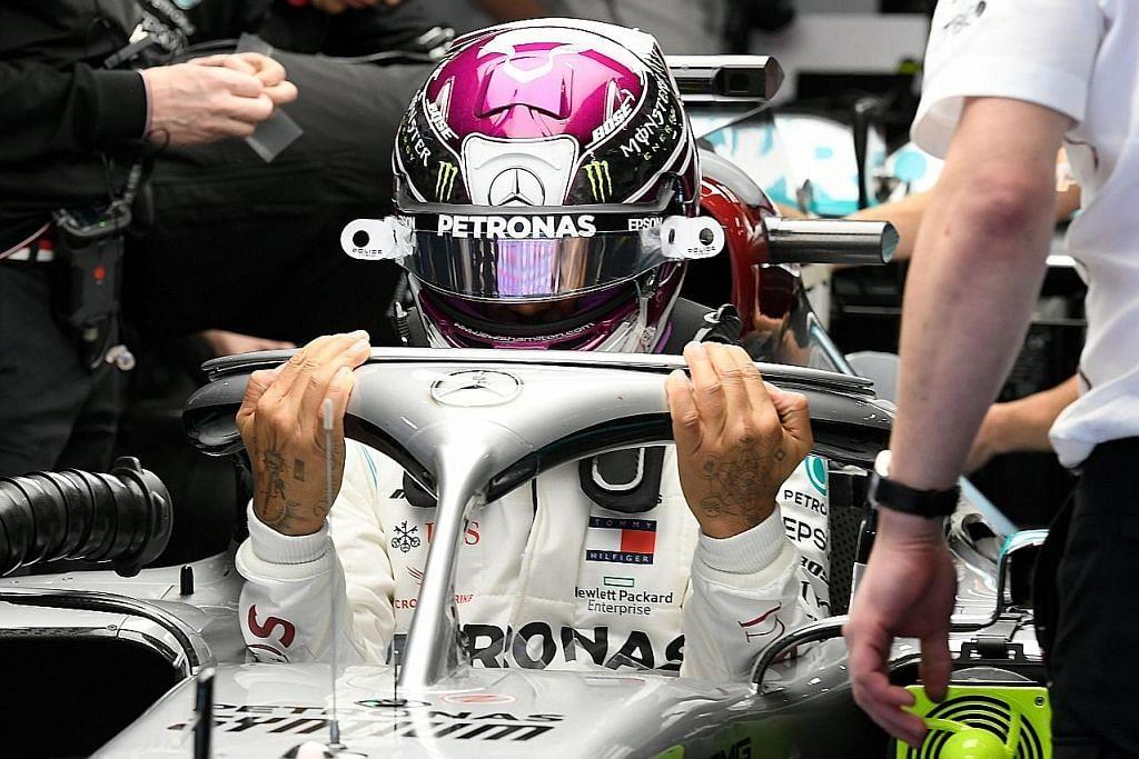 LUMBA KERETA FORMULA SATU (F1) Formula Satu: Hamilton beri amaran jelang musim