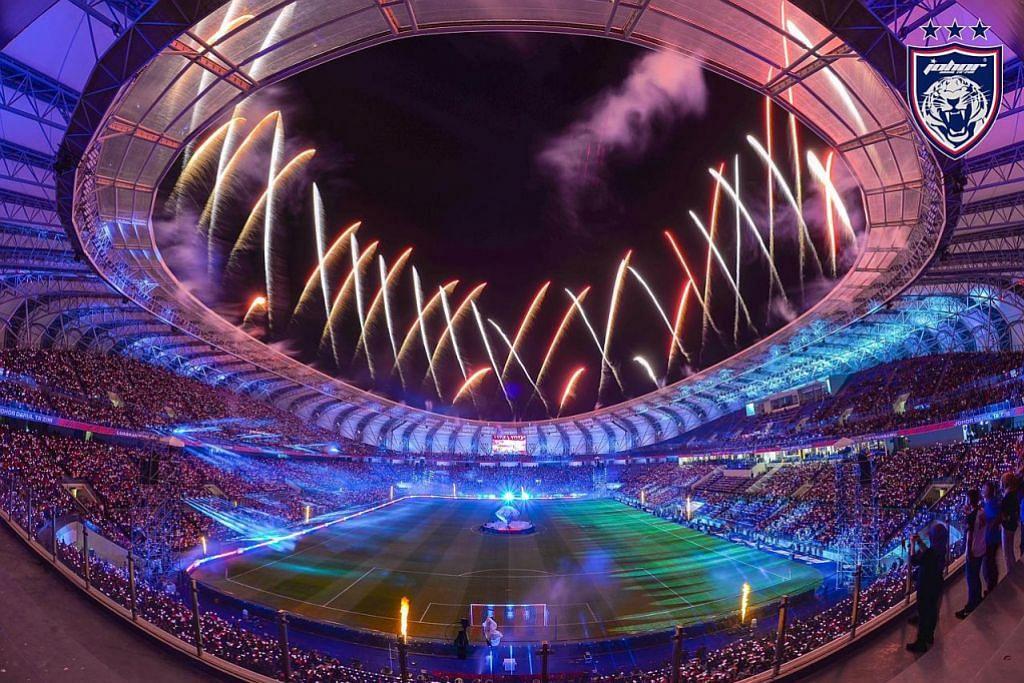 JDT lancar stadium baru nilai RM 200j