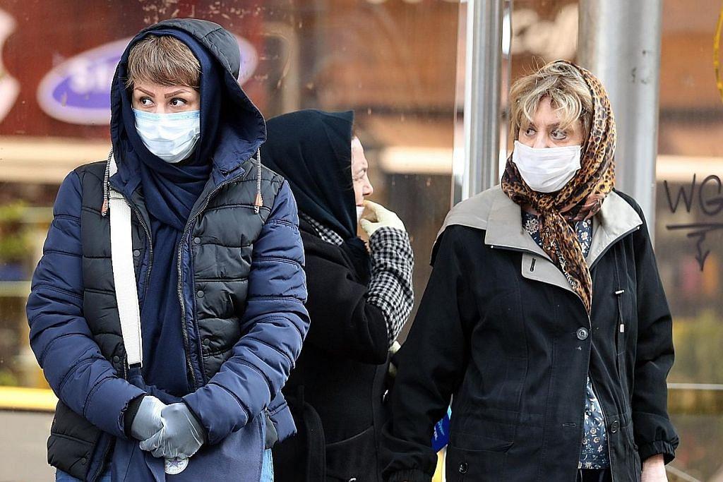 Penularan koronavirus belum ada tanda reda KORONAVIRUS