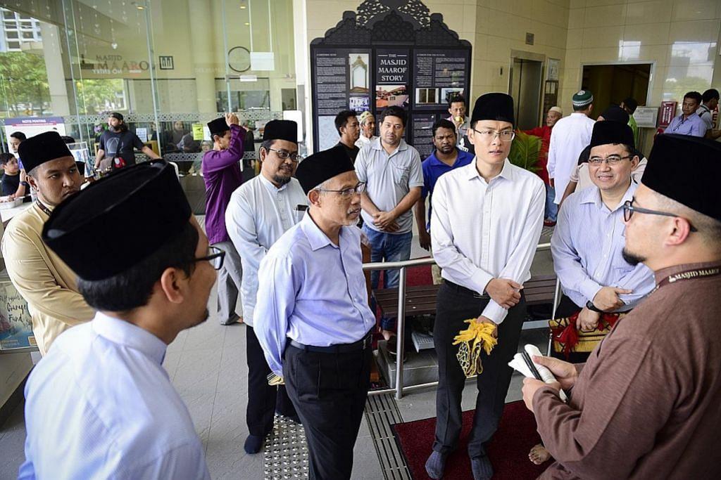 Masagos: Masjid serius cegah koronavirus