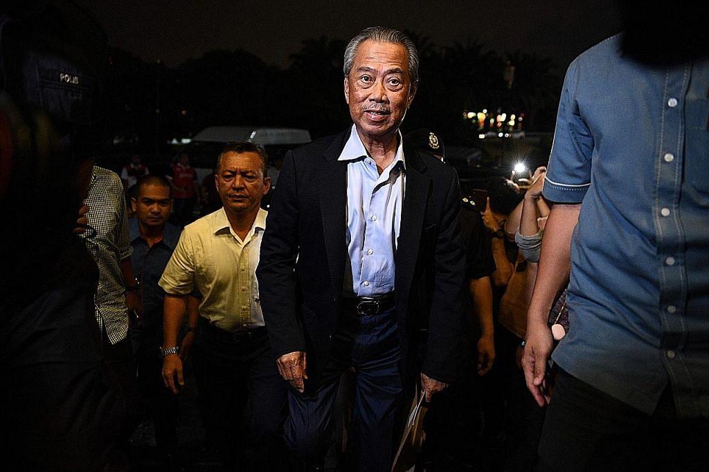 Bersatu, BN, PAS calonkan Muhyiddin PM ke-8