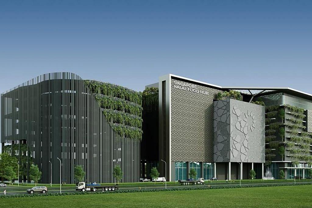Rancang bina dapur pusat halal di Hab Halal
