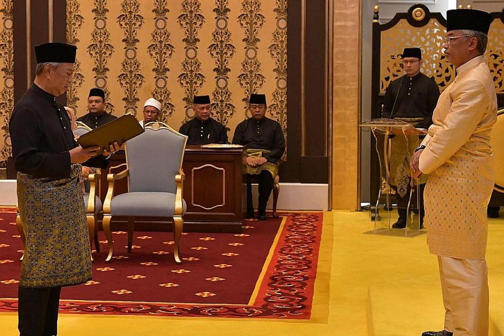 Muhyiddin PM baru M'sia