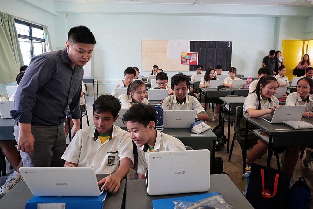 Alat pembelajaran peribadi bagi semua pelajar menengah jelang 2028