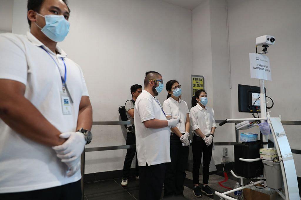 Ujian swab hidung bagi pelawat tiba SG ada gejala