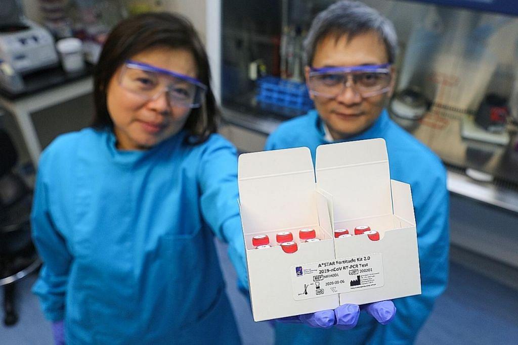 A*Star hasilkan kit ujian Covid-19, hantar 20,000 alat ke China