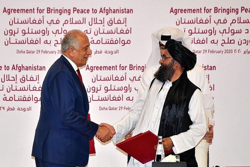 Selepas perjanjian damai dimeterai... keamanan bagi Afghanistan?